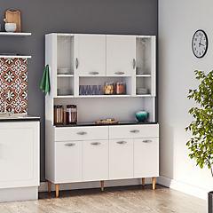 Kit mueble cocina 121x174x36 cm Blanco - Sodimac.com