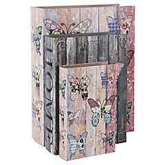 Set 3 Cajas Mariposas