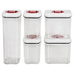 Set de contenedores de alimentos tritán 5 unidades