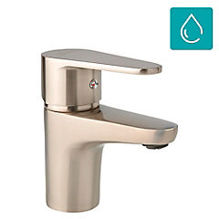 Monomando para lavamanos manual Niquelado