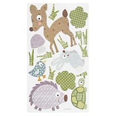Sticker decorativo animales del bosque 89 unidades