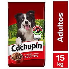 Alimento seco para perro adulto 15 kg carne