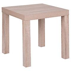 Mesa lateral 45x45x45 cm oak