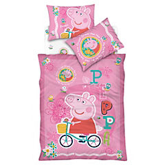 Plumón Peppa Pig 190 hilos 1,5 plazas