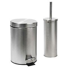 Set Metalico Papelero - Escobilla