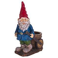 Gnomo para jardín de cerámica 40,2 cm