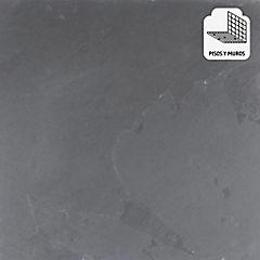 Piedra pizarra 60x60 cm 1,08 m2 negro