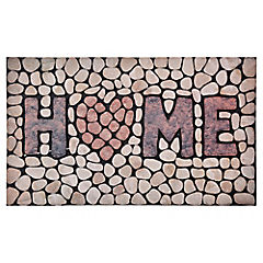 Limpiapiés Home piedras 45x75 cm