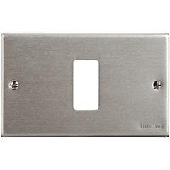 Placa 1 Modulo Aluminio Oxidal