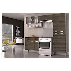 Kit mueble cocina 220x201x36 cm parana parana 2702193 for Muebles de cocina homecenter