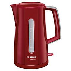Hervidor eléctrico 1,7 litros rojo