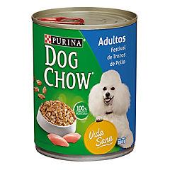 Alimento húmedo para perro adulto 374 gr pollo y vegetales