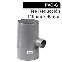 Tee PVC para cementar 110 mm
