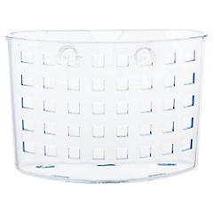 Portaservicios con succionador acrílico Transparente