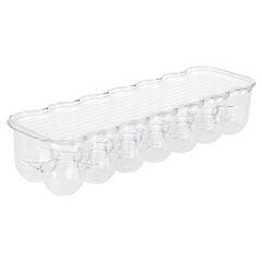Organizador de huevos para refrigerador 7,6x10,8x36,8cm acrílico