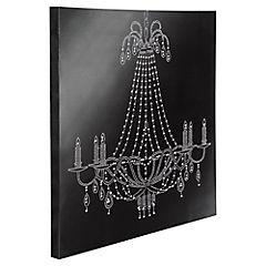 Canvas Lamp Velas Diam 50 x 50 cm