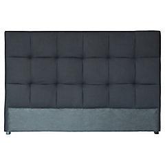 Respaldo para cama 120x170x11 cm negro