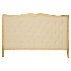 Respaldo para cama 120x200x7 cm beige