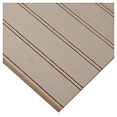 Tablero MDF Ranurado Pintado Maple 1C 5,5 mm 122x244 cm