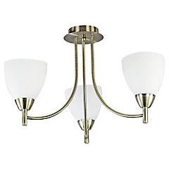 Lámpara colgante 3 luces 60 W