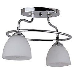 Lámpara colgante 2 luces 60 W