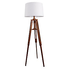 Lámpara de pie 158 cm 60 W