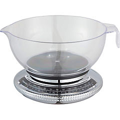 Balanza de cocina 2,2 kg transparente