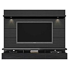 Rack de TV 171x217x43 cm negro