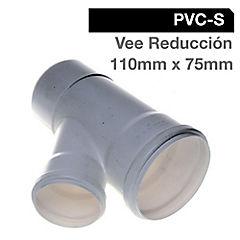 Vee PVC con goma 110x110x75 mm
