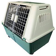 Jaula de transporte para mascota 49x36x55 cm