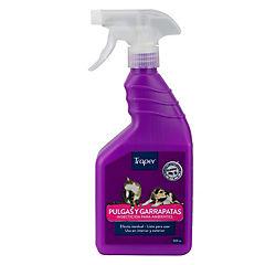 Insecticida para pulgas 500 ml listo para usar en hogar