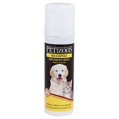 Shampoo en espuma seca para perro 160 gr