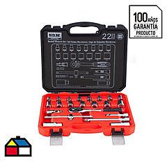 Set de herramientas mecánicas 22 piezas