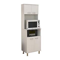 Estante para cocina 35x54x160 cm blanco