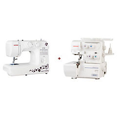 Combo máquinas de coser blanco