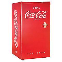Frigobar con cerradura 82 litros rojo