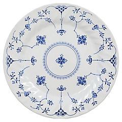 Plato para base 25 cm Azul