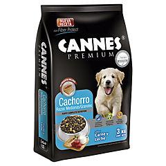 Alimento seco para cachorro 3 kg carne