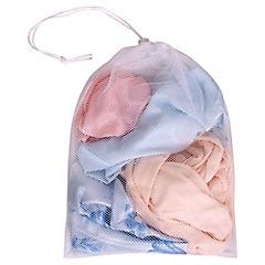 Malla de lavado para ropa delicada 29x28,5x21 cm Blanco