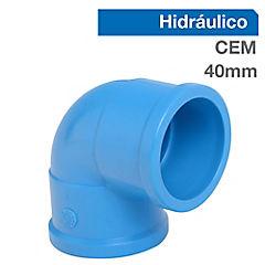 Codo PVC para cementar 40 mm