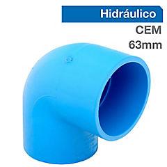 Codo PVC para cementar 63 mm