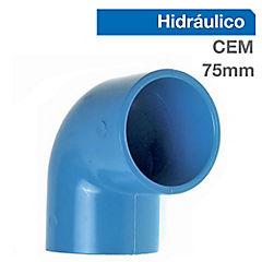 Codo PVC para cementar 50x75 mm