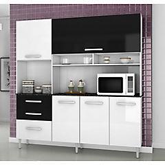 Kit mueble cocina 182,5x194x40 cm Blanco - Sodimac.com