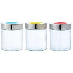 Especiero Vidrio Con Color