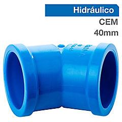 Codo PVC para cementar 40x10 mm