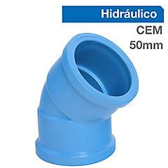 Codo PVC para cementar 50x32 mm