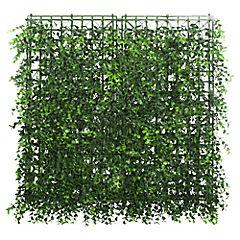 Palmeta de eucalipto primaveral artificial 50x50 cm