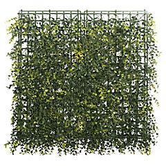 Palmeta de eucalipto otoñal artificial 50x50 cm