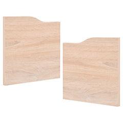 Set de puertas para estante 26x26 cm 2 unidades