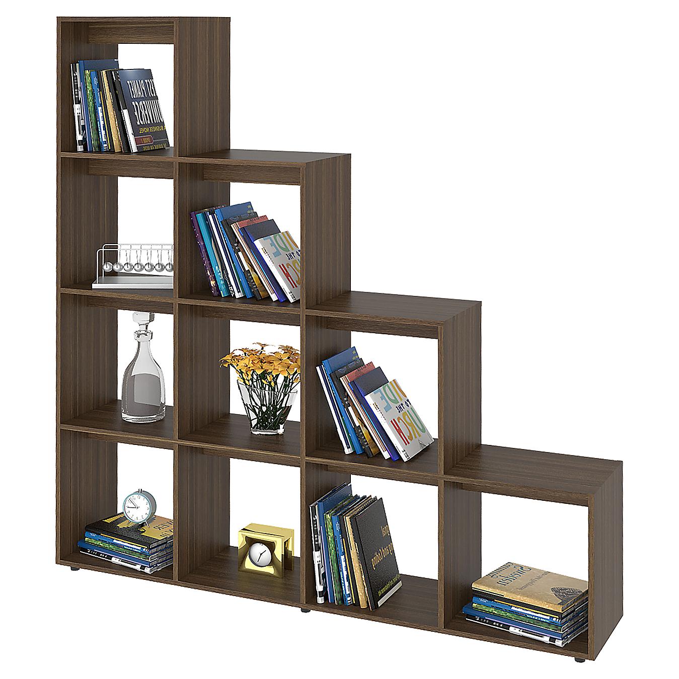 Biblioteca 10 repisas 170x156x30 cm amaretto - Sodimac.com 3a6fbd6168f9